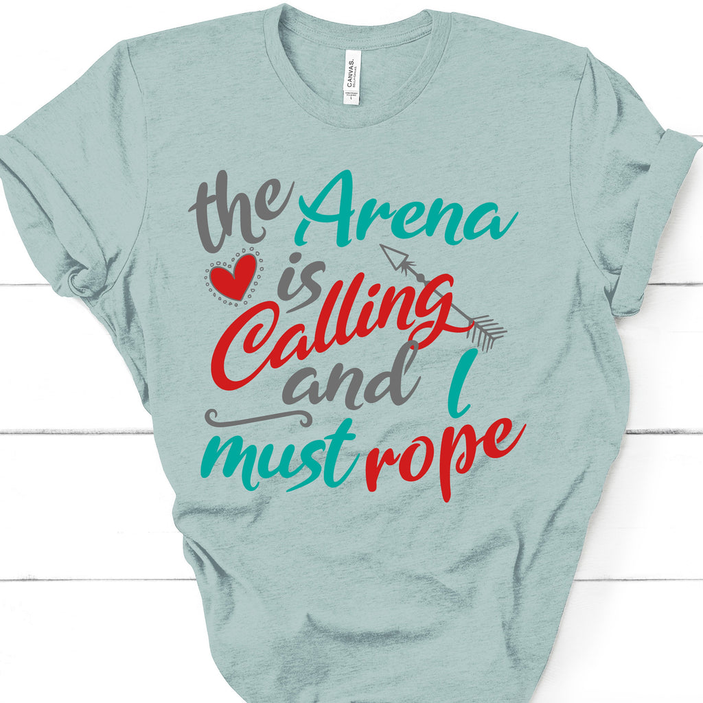 5065 THE ARENA IS CALLING AND I MUST ROPE