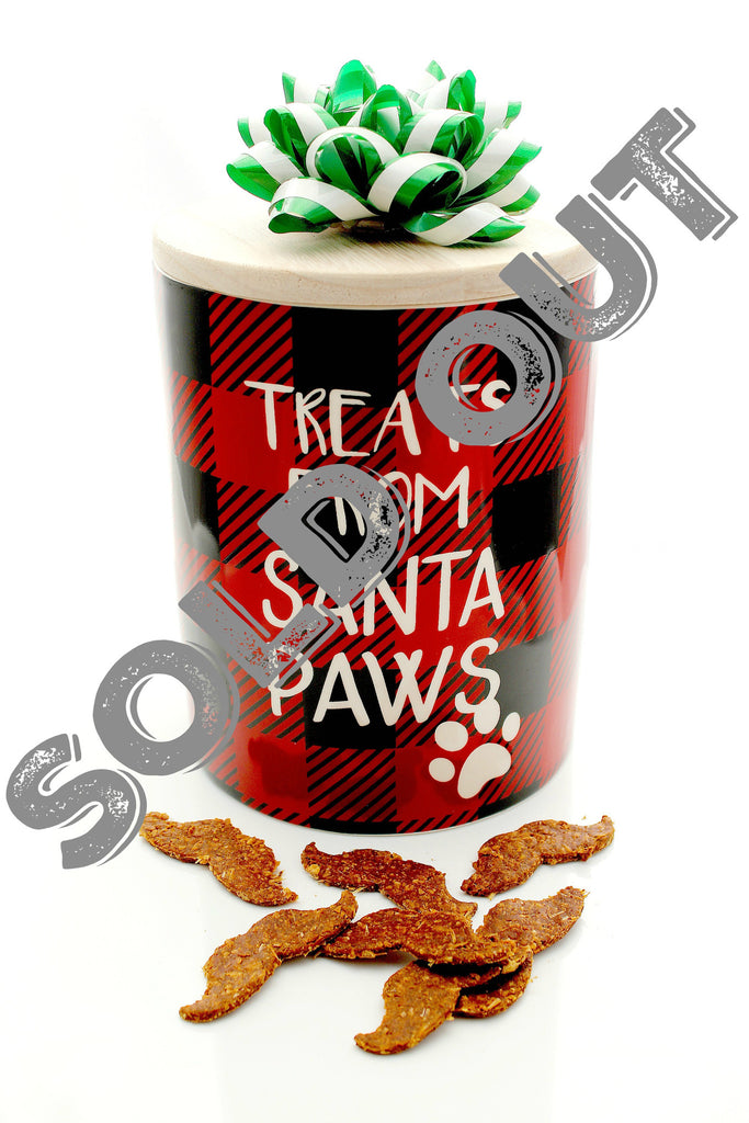 Santa Claws Jar