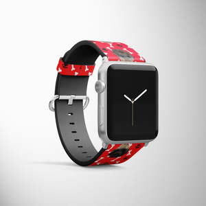 Custom Pet Head Smart Watch Band
