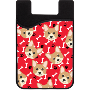 Standard Dog Head Phone Wallet
