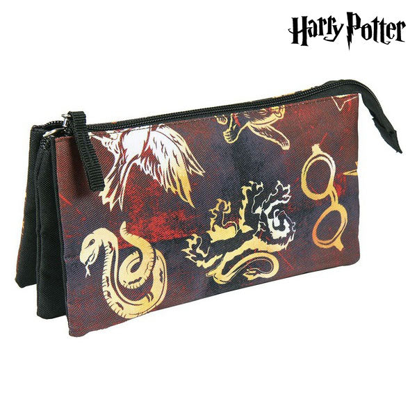 Trousse d'écolier Harry Potter Bordeaux