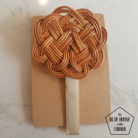 Chinese Knot Rattan Hair Clip