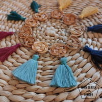Rattan Earrings