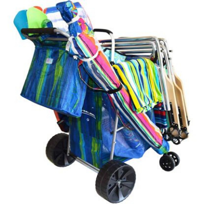 The Wonder Wheeler Ultra Beach Cart