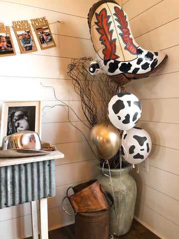 Cowboy Boot Balloon