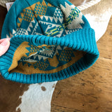 Journey West {turquoise} Beanie
