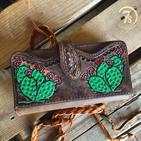 The Prickly Pear Wallet