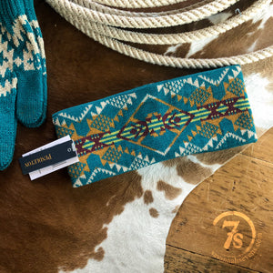 Journey West {turquoise} headband
