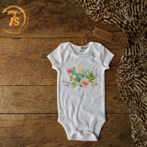 The Desert Rose Onesie