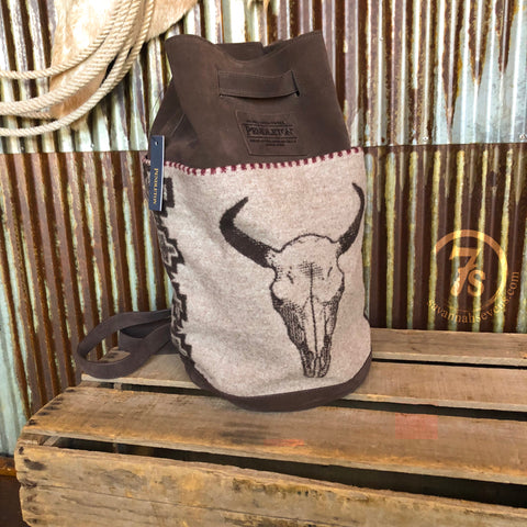 The American West {bucket backpack}