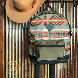 Olive Southwest Backpack