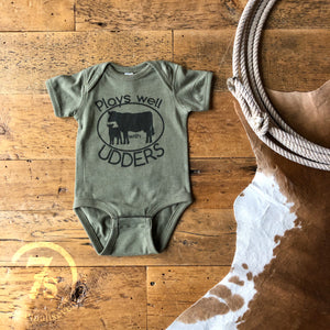 The Plays Well With Udders {infant}