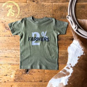 The 2% Farmers {infant & toddler}