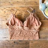 The Purcell Crop Bralette {light copper}