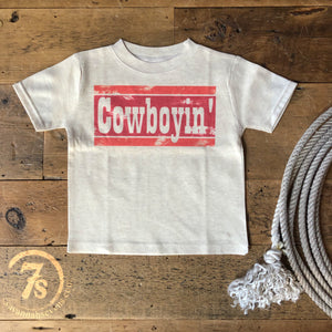 The Cowboyin' Kiddo Tee