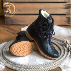 The Black Harding {duck boot]