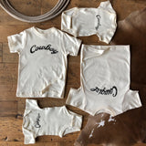 The Cowgirl Bebe Onesie