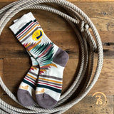 Ivory Falcon Cove Crew Sock