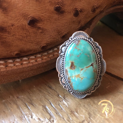 Turquoise Rodeo Bolo Necklace