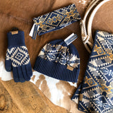 Journey West iTip Gloves {navy}