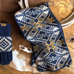 Journey West Scarf {navy}