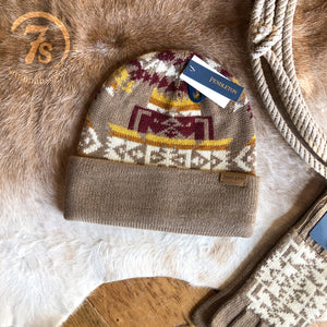 Chief Joseph Beanie {tan}