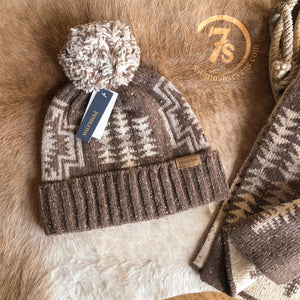 Harding Brown Stocking Cap