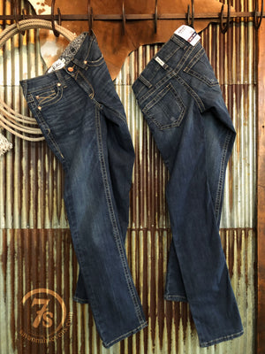 The Briggs Mid Rise Straight Leg Jean
