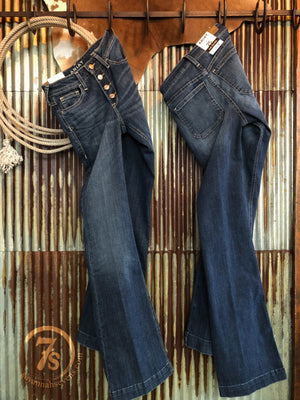 The McCoy High Rise Slim Trouser Jean