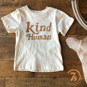 The Kind Human Kiddo Tee