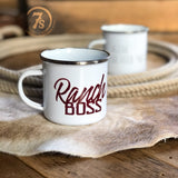 Ranch Boss Coffee Cup