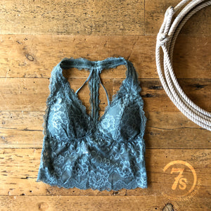 Brooks Bralette {steel blue}
