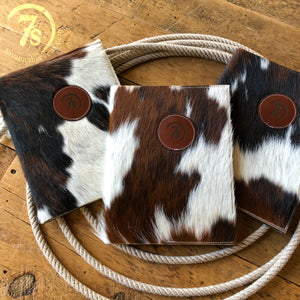7s Cowhide Notebook