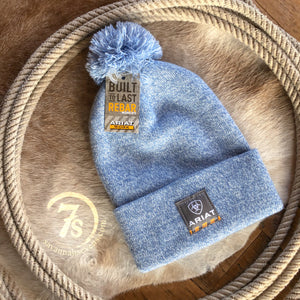 Ariat Rebar Beanie {heather light blue}