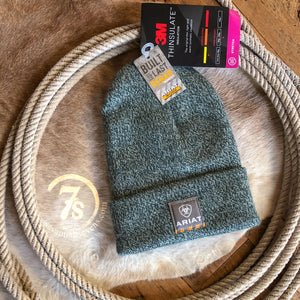 Ariat Rebar Beanie {heather emerald}
