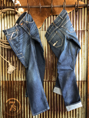 The Daycen Mid Rise Straight Leg Rebar Jean