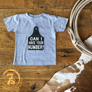 The Can I Have Your Number {infant & toddler}