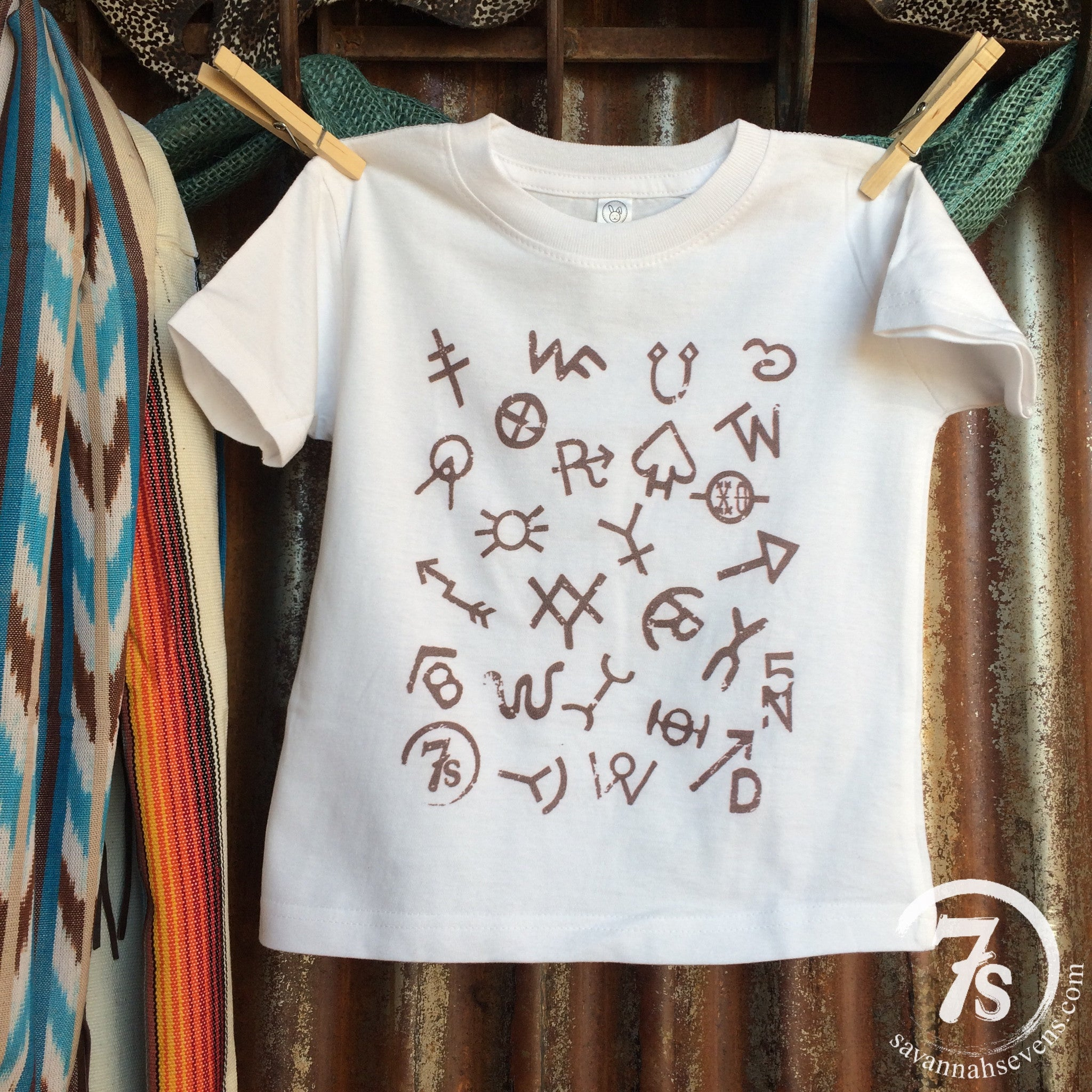 The Brands {unisex toddler tee}