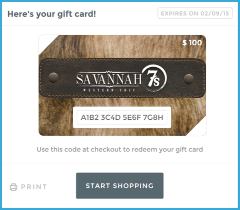 Gift Card {email version}