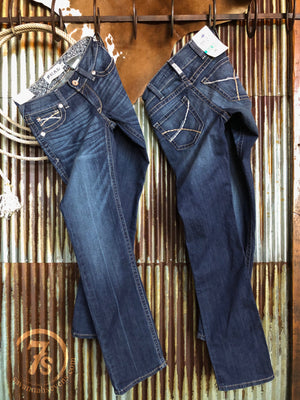 The Rookie Mid Rise Straight Leg Jean {plus sizes available}