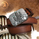 The Hammered Cactus Belt