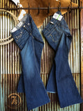 The Wesley Mid Rise Flare Jean