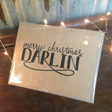 Darlin' Christmas Card