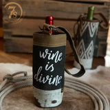 Wine Is Divine Wine Tote