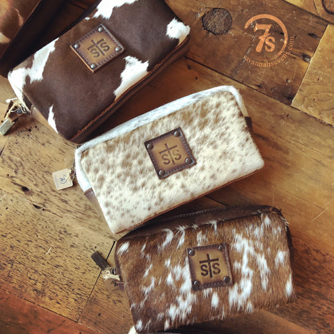 The Cowtown Bebe Makeup Bag