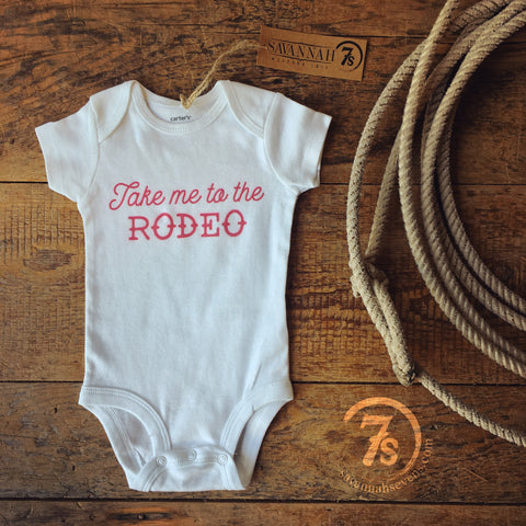 The Sweetheart of the Rodeo Onesie