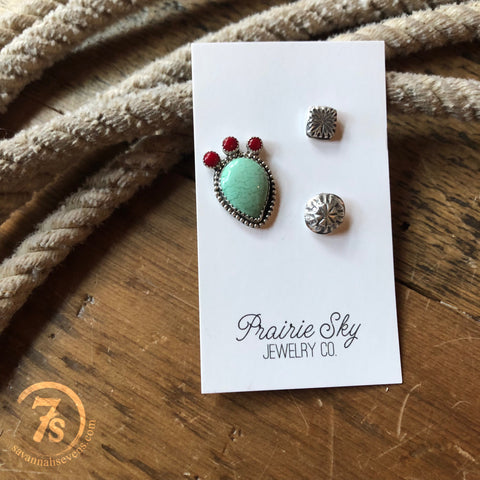 Prickly Pear Hat Pin Set