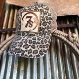 7s Foil Patch Cap {Leopard}