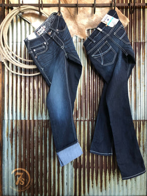 The Supernova Mid Rise Straight Leg Jean
