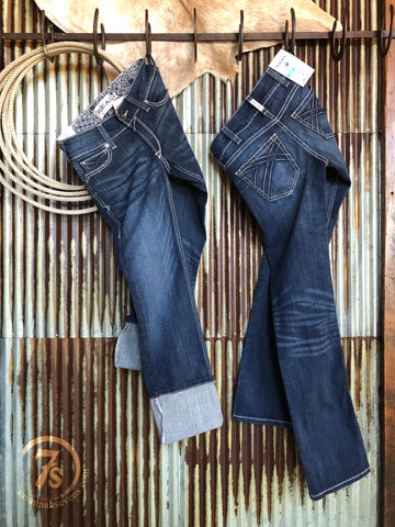 The 3D Willow Straight Leg Jean